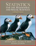 Statistics for the Behavioral and Social Sciences, Aron, Arthur and Aron, Elaine N., 0131562789