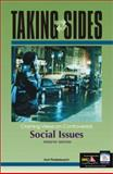 Taking Sides : Clashing Views on Controversial Social Issues, Finsterbusch, Kurt, 0072822783