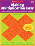 Making Multiplication Easy, Meish Goldish, 0545382785