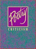 Poetry Criticism 9780787632786