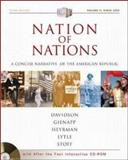 Nation of Nations Vol. II : A Concise Narrative of the American Republic, Davidson, James West and Gienapp, William E., 0072502789