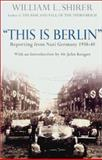This Is Berlin, William Shirer, 1585672793