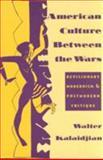 American Culture Between the Wars 9780231082792