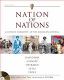 Nation of Nations : A Concise Narrative of the American Republic, Davidson, James West and Gienapp, William E., 0072502797