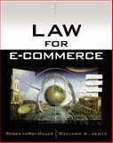 Law for E-Commerce, Miller, Roger LeRoy and Jentz, Gaylord A., 0324122799