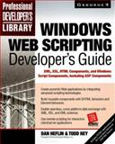 Windows Web Scripting Developer's Guide, Heflin, Dan and Ney, Todd, 0072122803