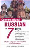 Conversational Russian in 7 Days, Shirley Baldwin and Sarah Boas, 0071432809