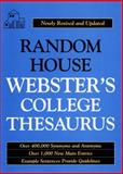 Random House Webster's College Thesaurus, Tony Geiss and RH Disney Staff, 067945280X