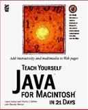 Teach Yourself Java for Macintosh in 21 Days, Cardona, Richard, 1568302800