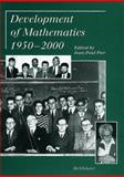 Development of Mathematics 1950-2000, , 3764362804