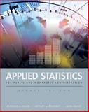 Applied Statistics for Public and Nonprofit Administration, Brudney, Jeffrey L. and Bohte, John, 1111342806