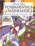 Fundamentals of Mathematics 9780024092809