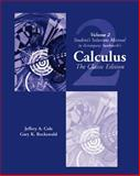 Student Solutions Manual, Vol. 2 for Swokowski's Calculus, Cole, Jeffery A. and Rockswold, Gary K., 0534382819