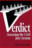 Verdict : Assessing the Civil Jury System, Litan, Robert E., 0815752814