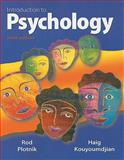 Introduction to Psychology, Plotnik, Rod and Kouyoumdjian, Haig, 0495812811