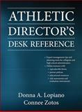 Athletic Director's Desk Reference with Web Resource, Lopiano, Donna and Zotos, Connee, 0736082816