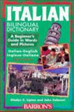Italian Bilingual Dictionary, Gladys C. Lipton and John Colaneri, 0764102826