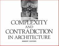 Complexity and Contradiction, Venturi, Robert, 0870702823