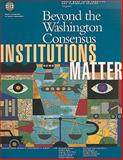 Beyond the Washington Consensus 9780821342824