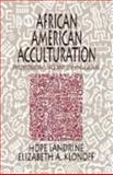 African American Acculturation 9780803972827