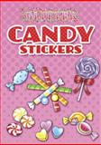 Glitter Candy Stickers, Noelle Dahlen and Stickers, 0486482820