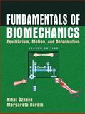 Fundamentals of Biomechanics : Equilibrium, Motion and Deformation, Özkaya, Nihat and Nordin, Margareta, 0387982833