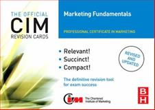 CIM Revision Cards Marketing Fundamentals, Jones, Maggie, 0750682833
