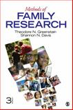 Methods of Family Research, Greenstein, Theodore N. and Davis, Shannon N., 1412992834