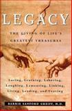 Legacy, Barrie Sanford Greiff, 0060392835