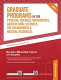 Graduate Programs in the Physical Sciences, Mathematics, Agricultural Sciences, the Environment and Natural Resources 2012 (Grad 4), Peterson's, 0768932831