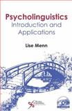Psycholinguistics : Introduction and Applications, Menn, Lise, 1597562831