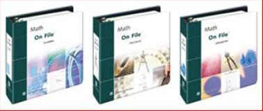 Math on File Set 9780816052837