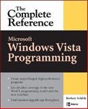 Microsoft Longhorn Programming : The Complete Reference, Schildt, Herbert, 0072262842