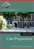 Case Preparation 2004-2005, Inns of Court School of Law Staff, 0199272840