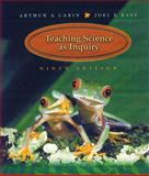 Teaching Science as Inquiry, Carin, Arthur A. and Bass, Joel E., 0130212849