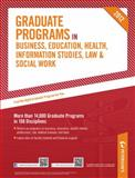 Graduate Programs in Business, Education, Health, Information Studies, Law and Social Work 2012 (Grad 6), Peterson's Publishing Staff, 0768932858