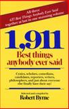 1,911 Best Things Anybody Ever Said, Robert Byrne, 0449902854