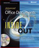 Advanced Microsoft Office Documents 2007, Stephanie Krieger, 073562285X