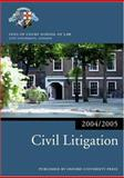 Civil Litigation 2004-2005, Inns of Court School of Law Staff, 0199272859