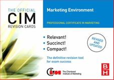 CIM Revision Cards Marketing Environment, Oldroyd, Mike, 075068285X