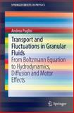 Transport and Fluctuations in Granular Fluids : From Boltzmann Equation to Hydrodynamics, Diffusion and Motor Effects, Puglisi, Andrea, 3319102850