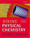 Atkins' Physical Chemistry, Atkins, P. W. and Paula, Julio de, 0198792859
