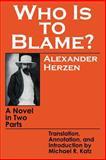 Who Is to Blame?, Aleksandr Herzen, 0801492866