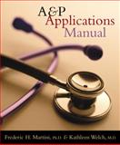 A&P Applications Manual, Martini, Frederic and Welch, Kathleen, 0805372865