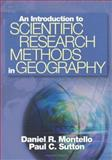 An Introduction to Scientific Research Methods in Geography, Sutton, Paul and Montello, Daniel R., 141290286X