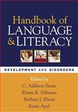 Handbook of Language and Literacy 9781593852863