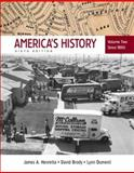 America's History since 1865, Henretta, James A. and Dumenil, Lynn, 0312452861