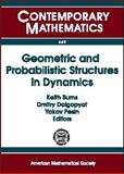 Geometric and Probabilistic Structures in Dynamics, Brin, Michael, 0821842862