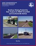 Roadway Striping Productivity Data Analysis for INDOT Greenfield and Crawfordsville Districts, Koo, Dan, 1622602870