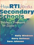 How RTI Works in Secondary Schools : Building a Framework for Success, Windram, Holly and Bollman, Kerry, 1935542877